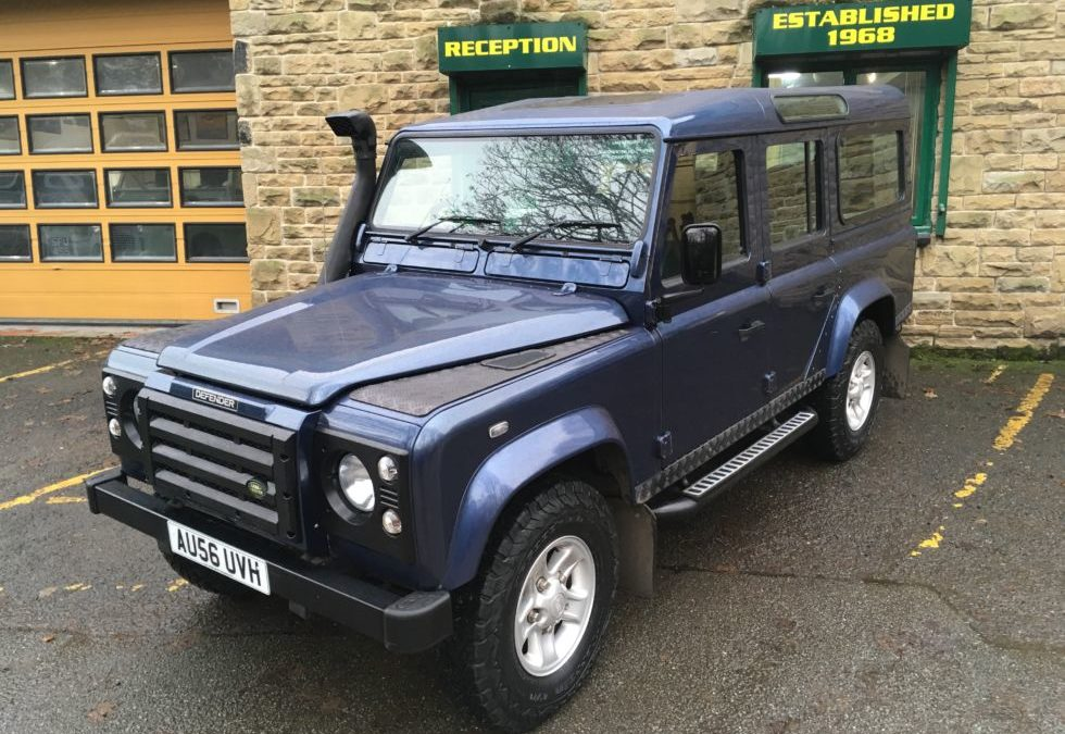 2006 Land Rover Defender 110 XS – Off to Belfast