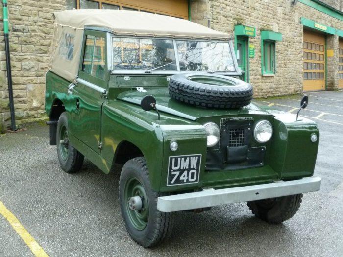 UMW 740 - 1959 Series II Land Rover - Totally Rebuilt