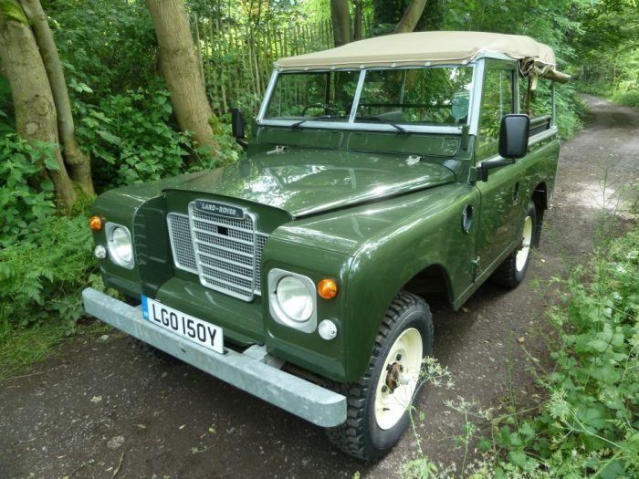 1982 Land Rover Series 3 Soft Top - Galvanised Chassis