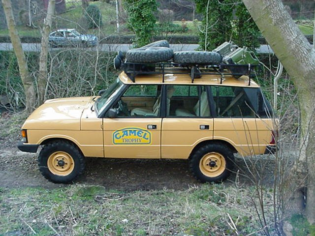 Cars Land Rover Range Camel Trophy Pictures