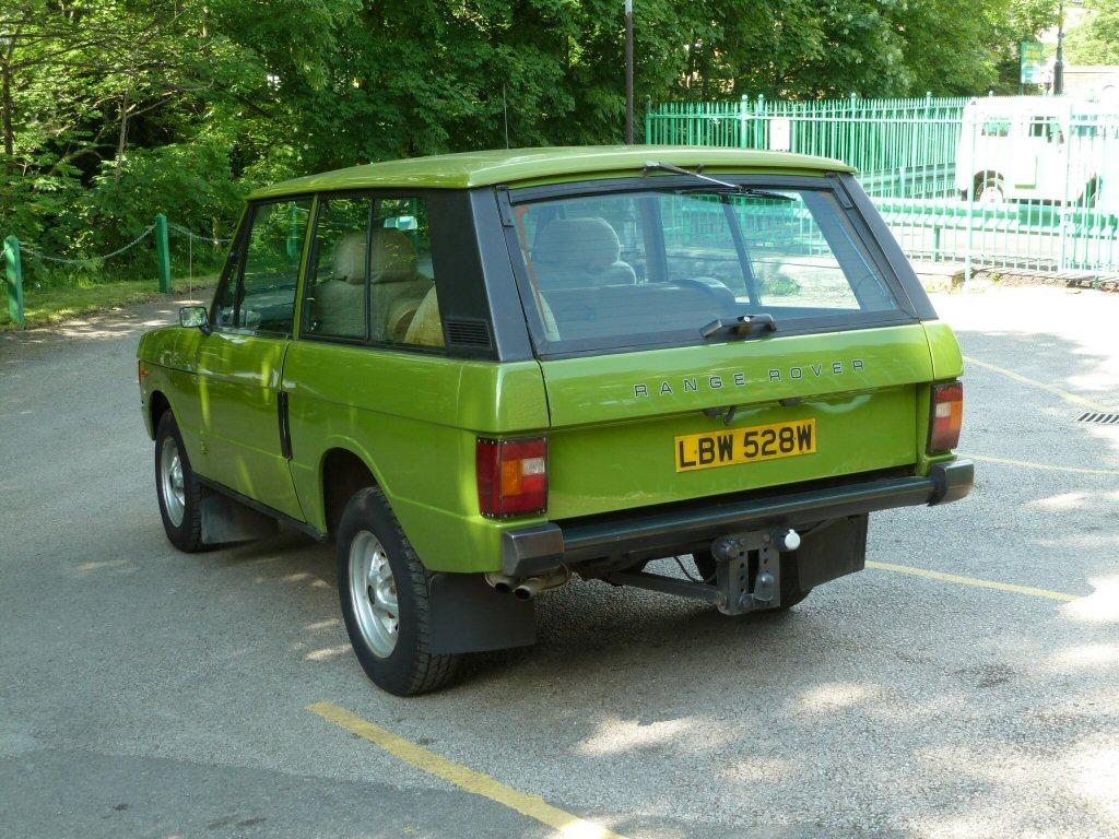 LBW 528W - Warwick Green - Range Rover 2 door classic