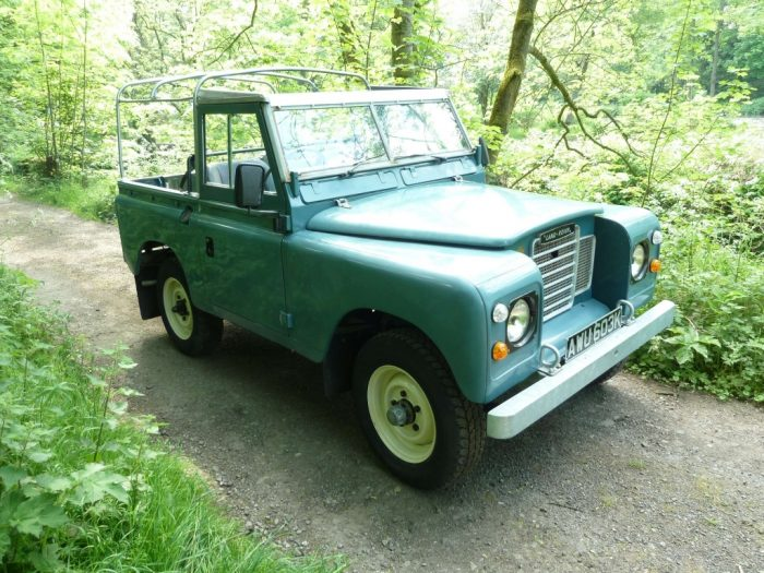 AWU 603K - 1971 Series 3 Land Rover - Soft Top Galvanised Chassis