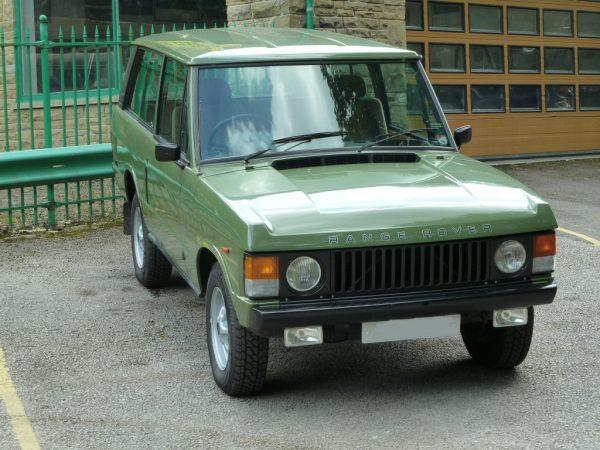 PJX 559X - 1981 Range Rover Classic 2 Door - Lincoln Green