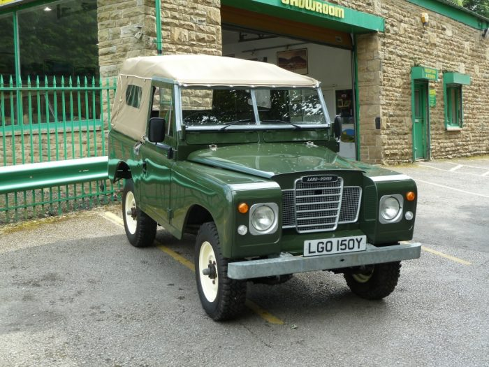 LGO 150Y - 1982 Series III - 15,500 miles from new