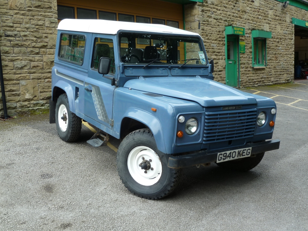 Land Rover Defender Usa >> G940 KEG - 1989 Land Rover 90 Turbo Diesel - Land Rover Centre - Land Rover Centre