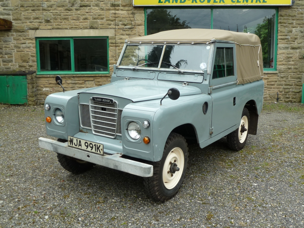 1972 tax exempt series 3 arrives land rover centre. Black Bedroom Furniture Sets. Home Design Ideas