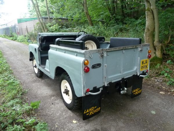 WJA 991K - 1972 Series III Land Rover
