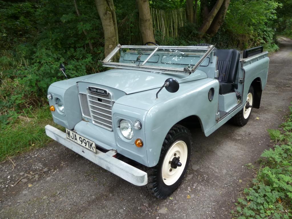 Wja 991k 1972 Tax Exempt Series 3 Land Rover Land