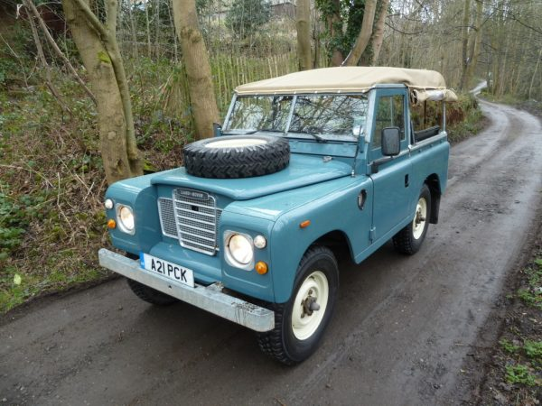 A21 PCK - Land Rover Series III Soft Top