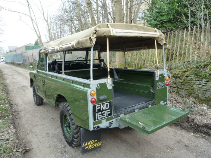 """FND 163F - 1968 Series 2A - 109"""" - Galvanised Chassis"""