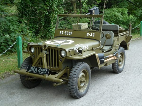 "JMA 490 - 1942 WWII Ford GPW (""Willys"") Jeep"