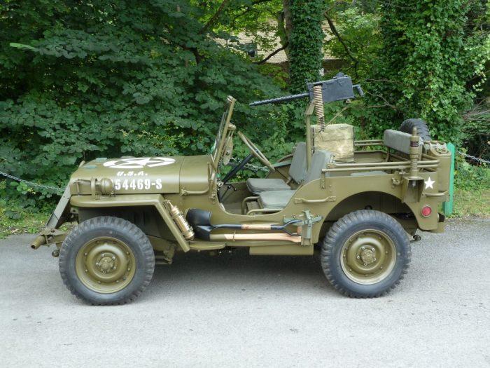 """JMA 490 - 1942 WWII Ford GPW (""""Willys"""") Jeep"""