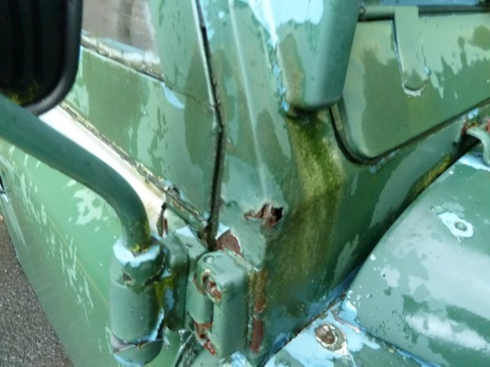 1974 Land Rover Series III for restoration