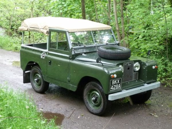 Land Rover Series 2 Soft top
