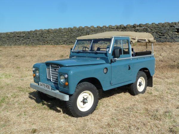 1983 Series 3 Diesel - Galvanised Chassis