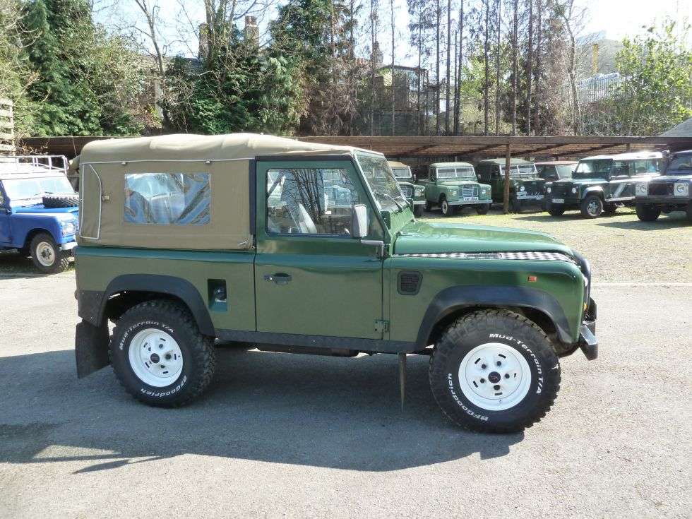 Left Hand Drive 90 Defender Soft Top