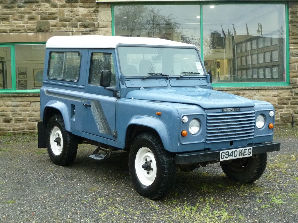 Land Rover 90 Delivered To James In Huddersfield Land