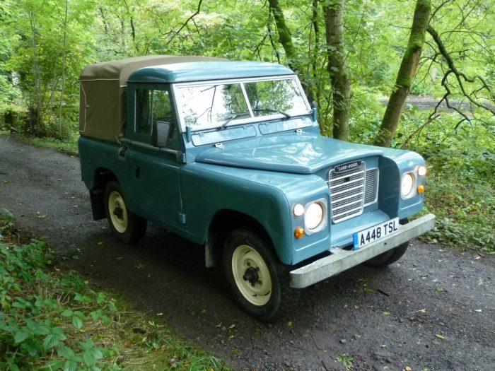 A448 TSL - 1984 Land Rover Series 3 - 25,000 miles !