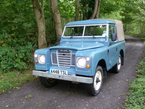 A448 TSL - 1984 Land Rover Series 3 - Truck Cab