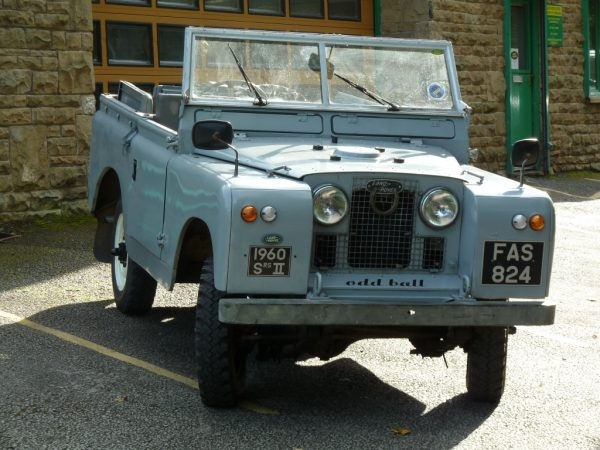 FAS 824 - 1960 Tax Exempt Series 2A Land Rover