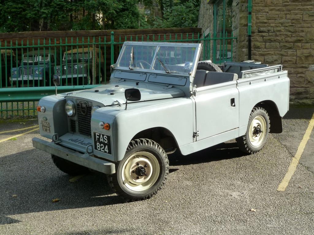 Fas 824 1960 Series 2a Land Rover Centre Land Rover