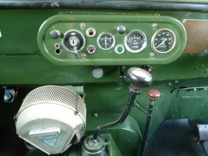 "FEK 479 - 1949 Series I - 80"" ""Ring Pull"" Gearbox"
