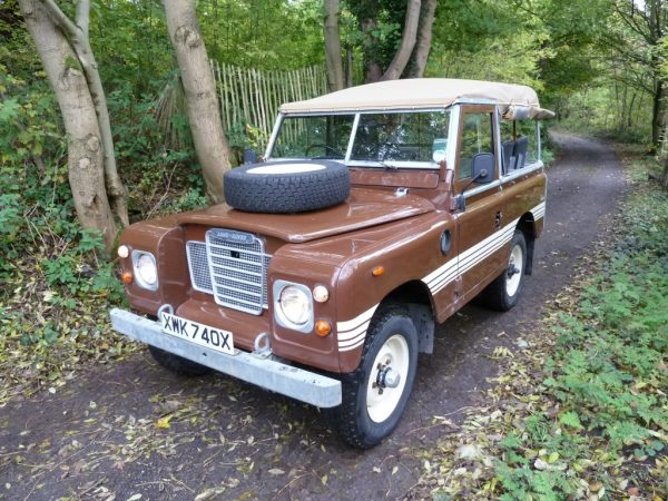 1982 Series III Land Rover County Soft Top - Galvanised Chassis