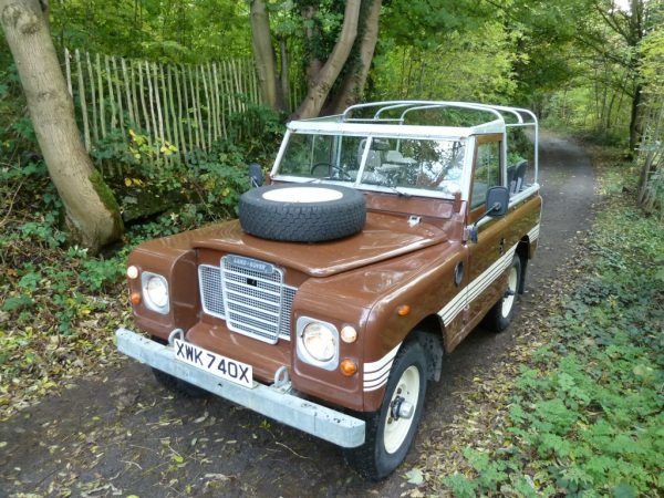 Series III Land Rover County Soft Top - Galvanised Chassis