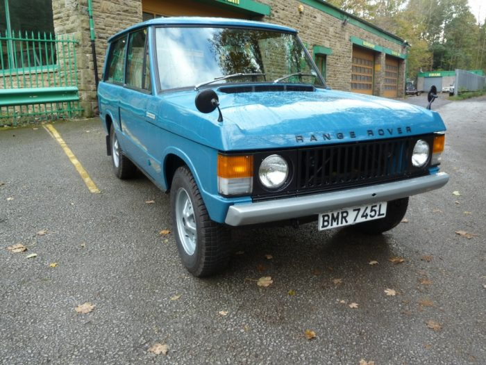"""BMR 745L - 1972 """"Suffix A"""" 2 Door Range Rover Classic - Tax exempt"""
