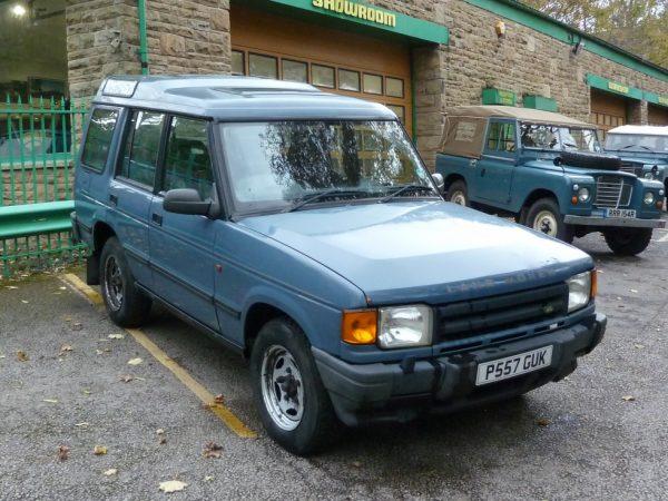 P557 GUK - 1996 Land Rover Discovery 300 TDi Auto