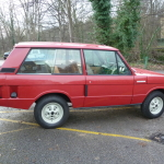1972 Suffix A - 2 Door Range Rover - Masai Red