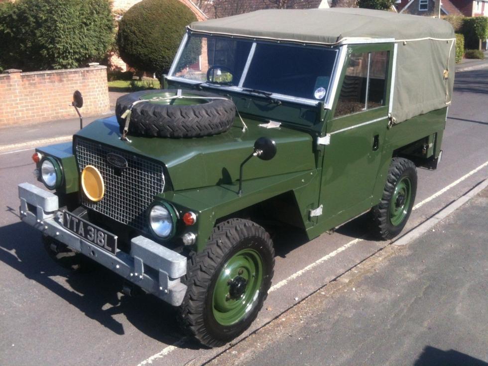 New Arrival 1972 Land Rover Lightweight Tax Exempt