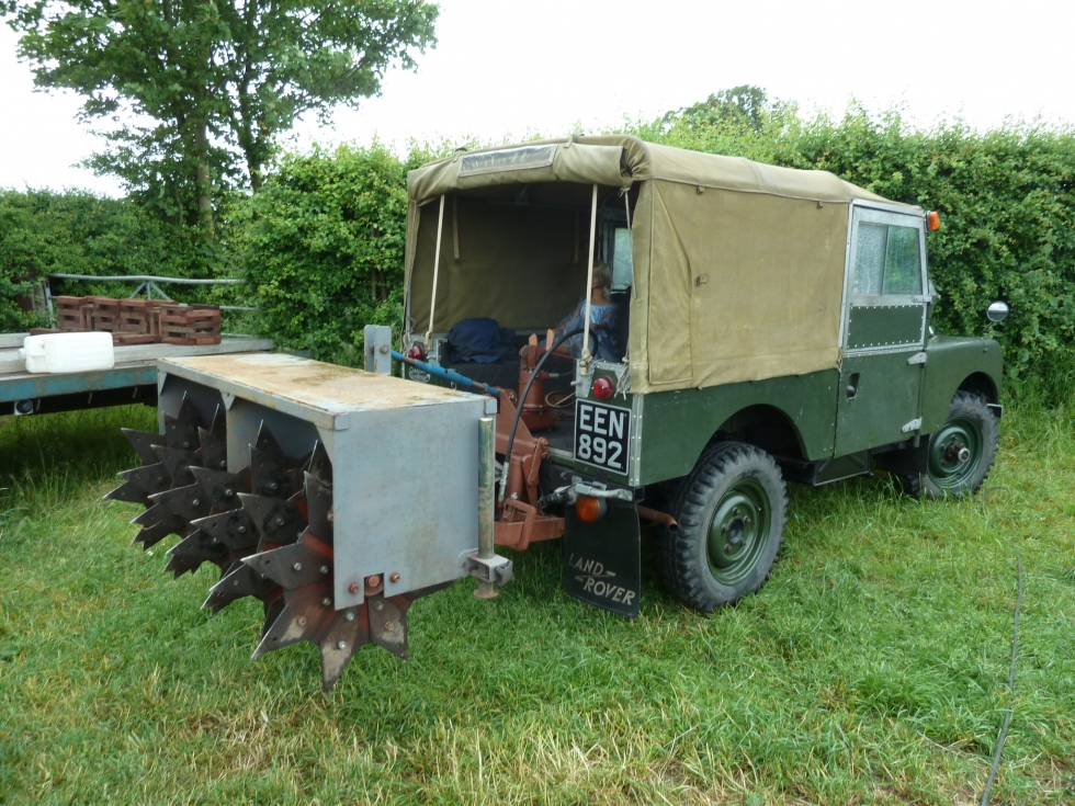 Kelsall Steam And Vintage Rally Land Rover Centre Land