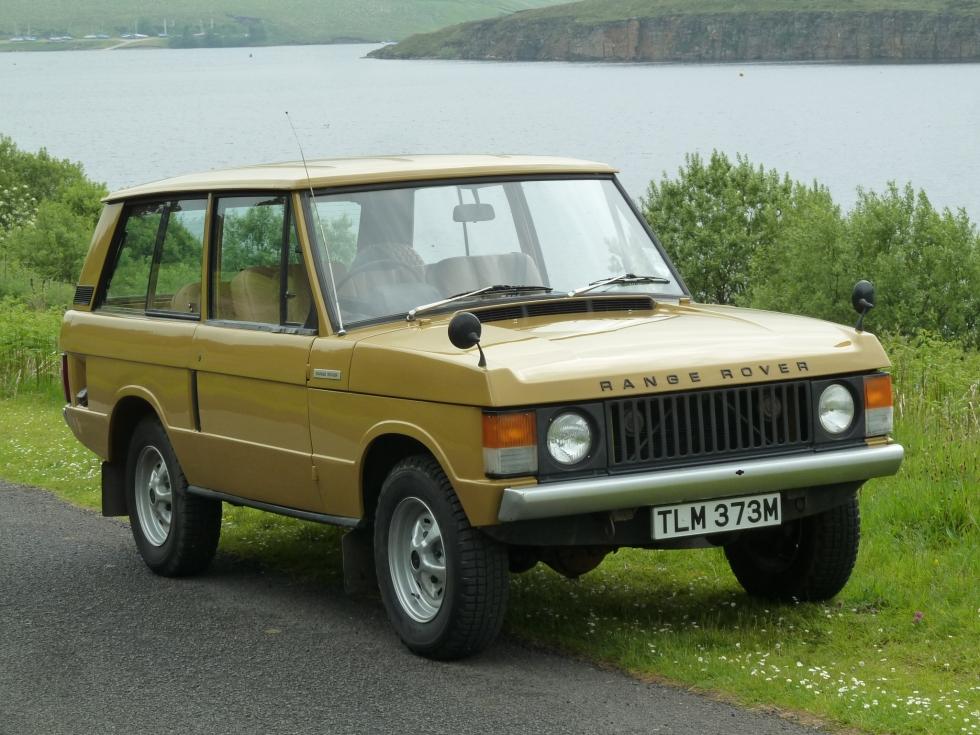 TLM 373M - 1973 Range Rover - 2 Door Clic - Bahama Gold - Land ...