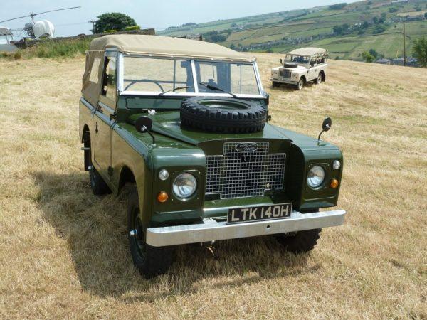 1969 Series IIA SWB Land Rover