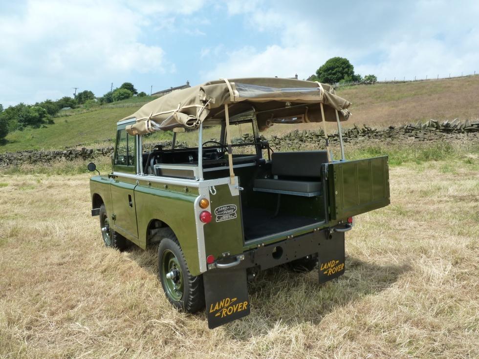 Ltk 140h 1969 Land Rover Series Iia Fully Rebuilt