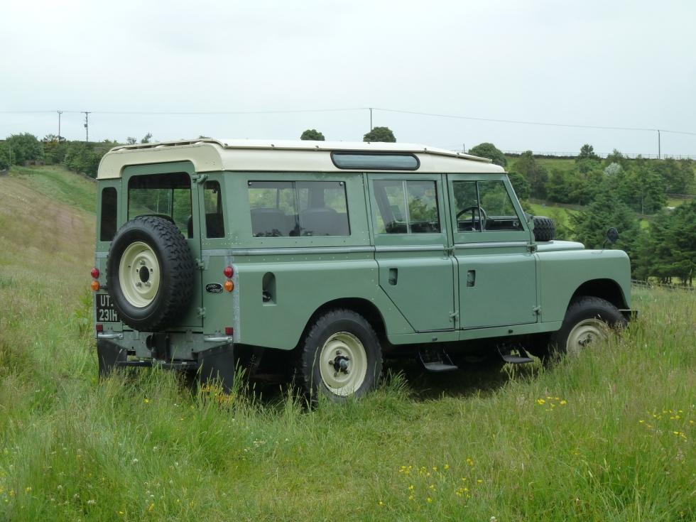 Utb 231h 1969 Land Rover Series Iia 5 Door Station