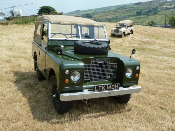1969 Series 2A Land Rover