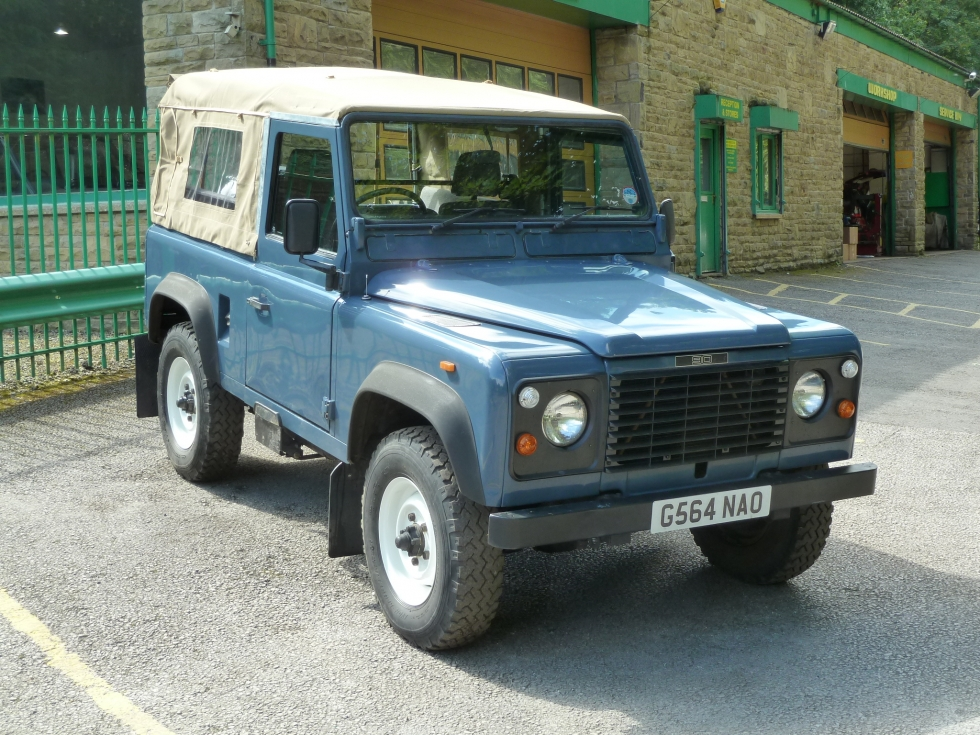 G564 Nao 1989 Land Rover 90 Soft Top Purchased By