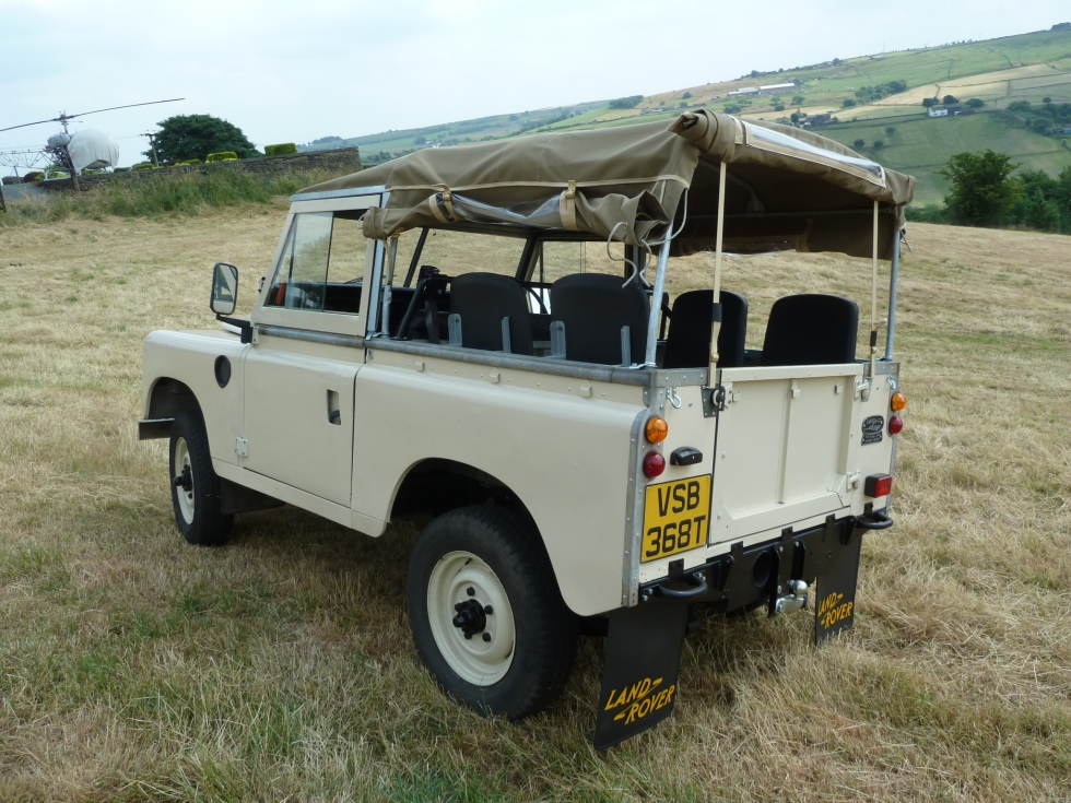 vsb 368t - 1979 series 3 soft top - galvanised chassis - land rover
