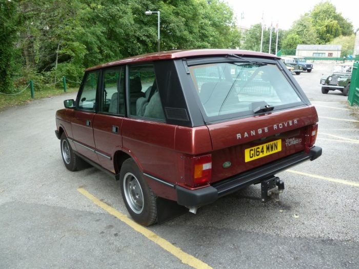 Time-Warp - Classic Range Rover