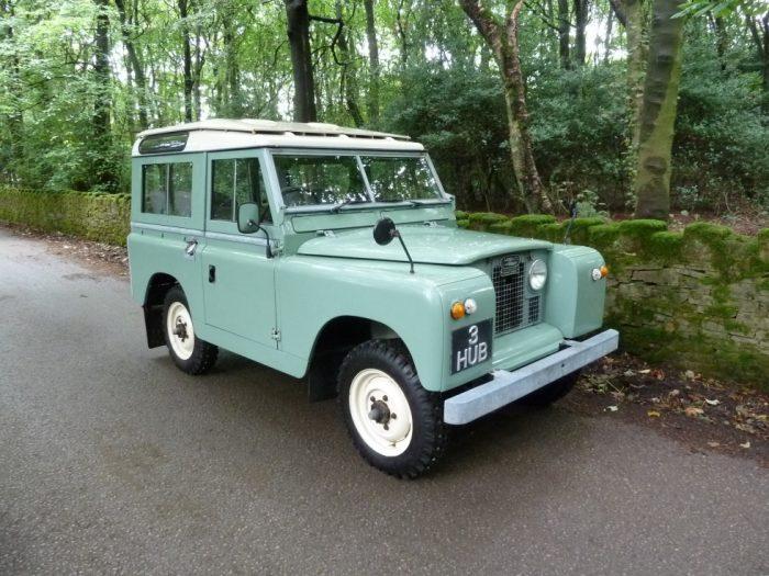 1968 Land Rover Series 2A