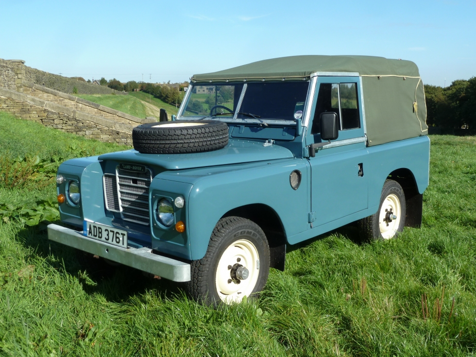 1978 Series 3 Land Rover - 10,000 miles from new
