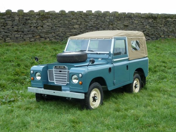 1974 Series 3 - Galvanised chassis