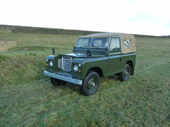 1974 Land Rover Series 3 Soft Top