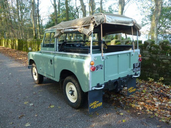 Tax Exempt 1970 Series 2A Land Rover