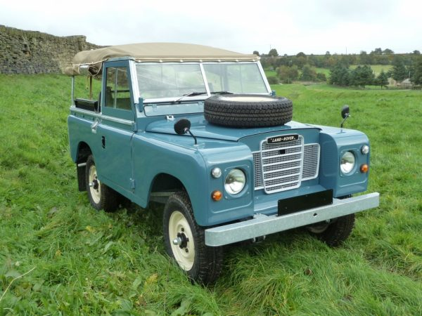 1974 Land Rover Series 3 Soft Top - Galvanised Chassis