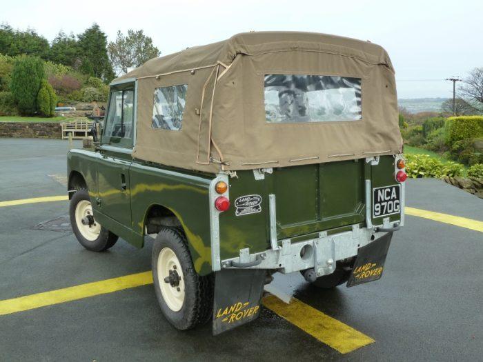 1969 Series IIA Soft Top