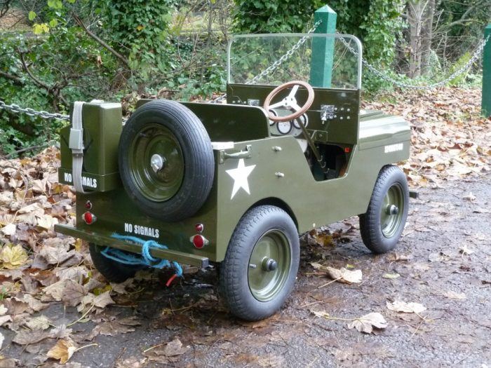 Electric Powered Jeep