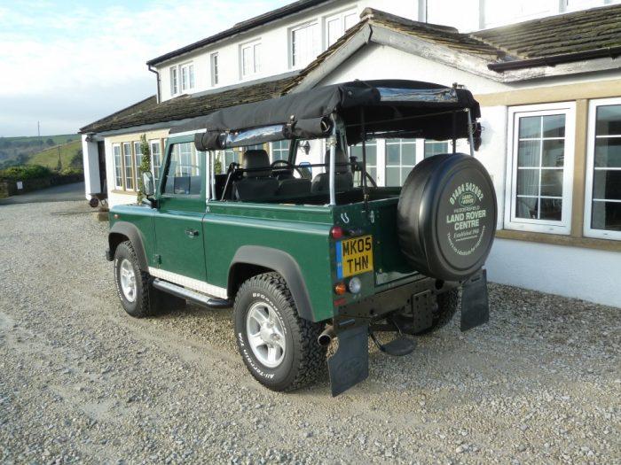 2005 Land Rover TD5 Defender Soft Top